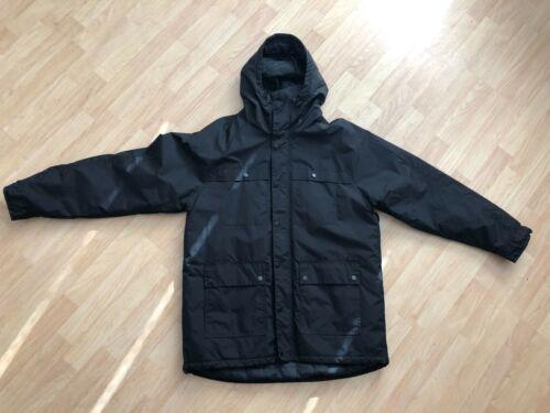 KR3W KREW Aurora Windbreaker Jacket Black Hooded