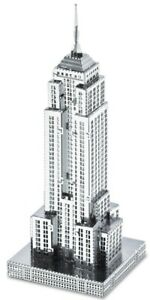 Empire-State-Building-16-Pieces-3D-Metal-Kit-Silver-Edition-Metal-earth-1010