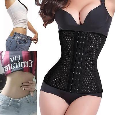 Sexy Corset slimming faja reductora sexy body shaper waist trainer cincher L@