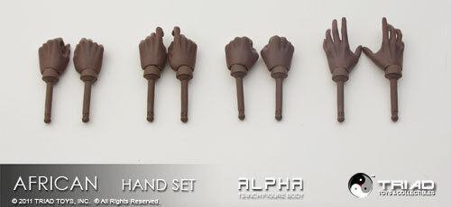 Triad Toys African Female Handset