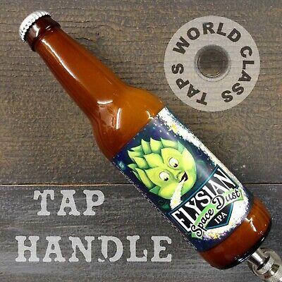 ELYSIAN Space Dust IPA beer TAP HANDLE draft MARKER tapper KEG bar PUB bottle