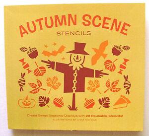 autumn scene stencils 20 reusable stencils lydia nichols seasonal scenes kids 9781452128900 ebay ebay