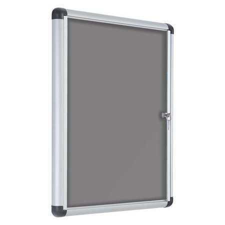 """Enclosed Bulletin Board 28x38/"""" 1 Door MASTERVISION VT630103690"""
