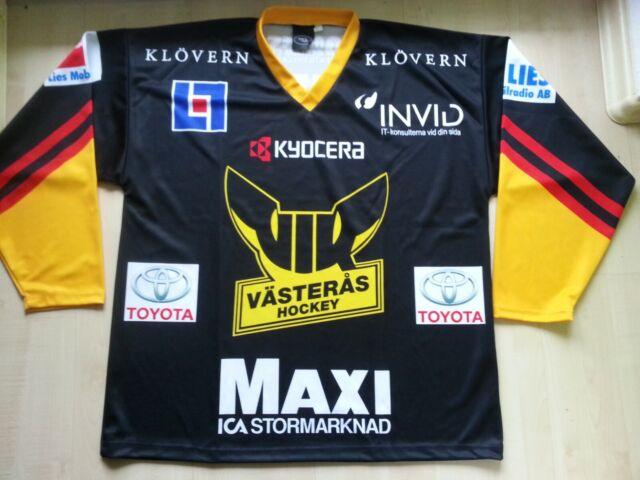 VIK Västeras HK Schweden Eishockey-Trikot-Shirt-Jersey XL Allsvenskan Sverige nw