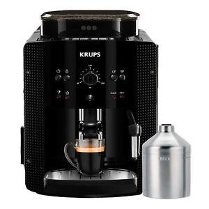 Krups-EA-81M8-Kaffeevollautomat-Espresso-Cappuccino-Kaffeemaschine-Kegelmahlwerk