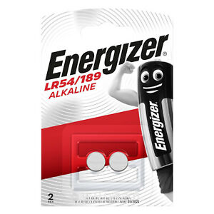 Energizer-LR54-189-LR1130-AG10-389-390-Batteries-Pack-of-2-Use-By-2023