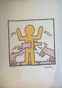 Keith Haring Print Signée Et Numéroté