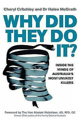 1 of 1 - Why Did They Do it? by Helen McGrath, Cheryl Critchley..LIKE NEW..lnf75