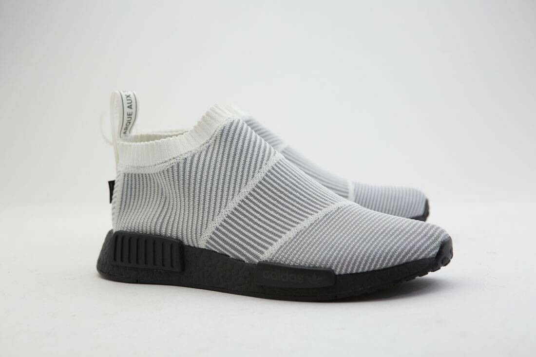 BY9404 Adidas Men NMD CS1 Gore-Tex Primeknit white core white core black
