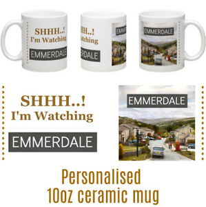 Emmerdale-10oz-ceramic-personalised-mug-Birthday-Christmas-Mothers-Day-gift