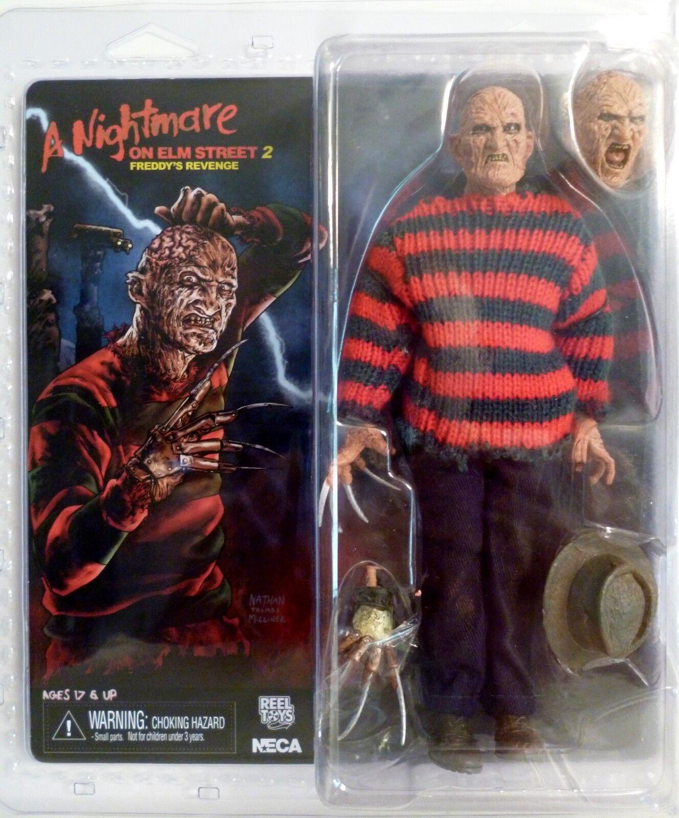 Frojody Krueger Pesadilla en Elm Street Parte 2 Retro vestidos 8  Figura Neca 2015