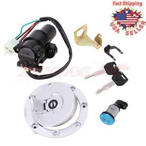 Ignition Switch Fuel Gas Cap Seat Lock Key Set Fit for Honda CBR600F4i CBR1000RR CBR1100XX CBR600RR CBR900RR CBR929RR CBR954RR