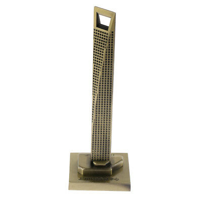 Shanghai Global Center Model Decorative Metal Building For Home Office Decors