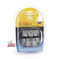 Jl Audio Xd-fdbu-4 Car Amplifier 4-way Maxi Fused Power Distribution Block