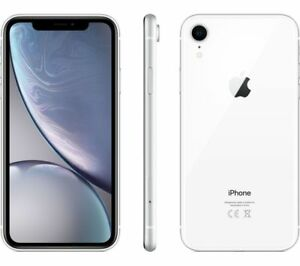 APPLE-IPHONE-XR-64-Go-BLANC-Desimlocke-4G-ECRAN-6-1-Pouces-12MPx-64Go