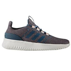 SCARPE-ADIDAS-CLOUDFOAM-ULTIMATE-BC0036-TRAPINK-BLU-ROSA-sneakers-DONNA-RUNNING