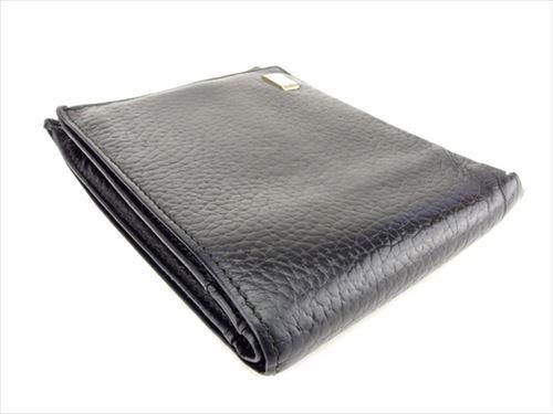 Brukt Black Wallet Authentic Mens Purse Bifold Gold T6834 Dunhill q0a7nRWAR