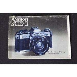 Canon-AE-1-Anleitung-Bedienungsanleitung-Gebrauchsanweisung-DEUTSCH