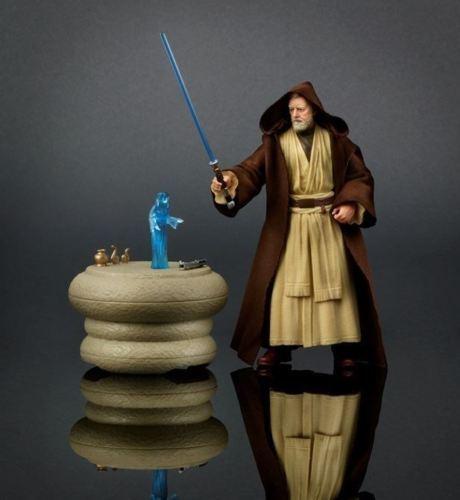 Exclusivo Guerra De Las Galaxias La Serie Negra Sdcc Obi-Wan Kenobi Figura De 6  Totalmente Nuevo