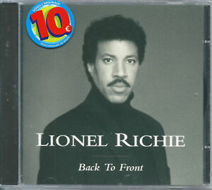 Lionel-Richie-Back-to-Front-1992-CD-NUOVO-All-Night-Long-Easy-Say-You-Say-Me