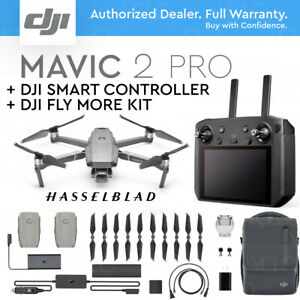 DJI-MAVIC-2-PRO-w-DJI-SMART-REMOTE-CONTROLLER-5-5-034-HD-DISPLAY-FLY-MORE-KIT