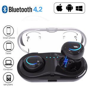 Bluetooth-sans-fil-casque-de-i8tws-ecouteurs-pour-iPhone-Samsung-Cas-de-Chargeur