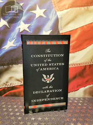 The Constitution /& Declaration of Independence Pocket New Leather Collectible