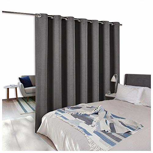 Nicetown Room Divider Curtain Screen Partitions Thermal Insulated Blackout Door For Sale Online Ebay