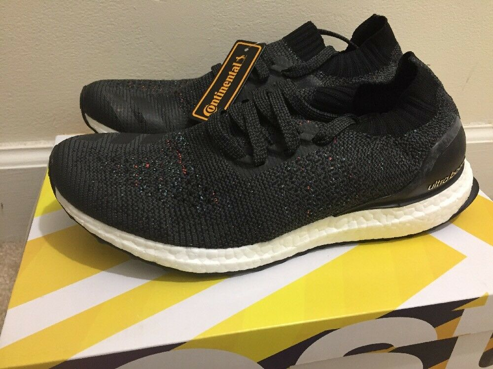 New DS Adidas Ultra Boost Uncaged Black Multi Color Mens Sz 8 BB4486