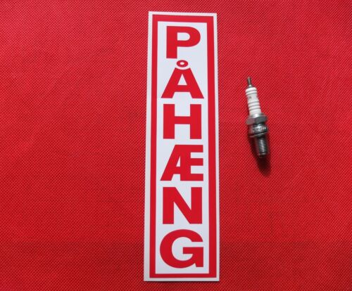 Etiqueta engomada de paso de remolque pahaeng
