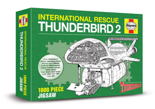HAYNES 1000 PIECE JIGSAW New /& sealed INTERNATIONAL RESCUE TB2 THUNDER BIRDS 2