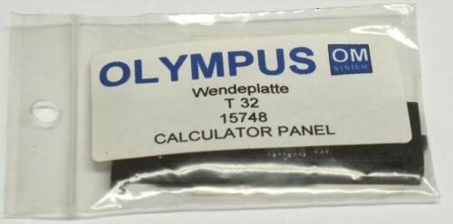 Olympus OM-System t32 placa de inflexión de repuesto