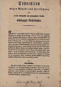 Convention 1816 a causa di fornitura e proseguimento pendenti cause pressione -- 11s.