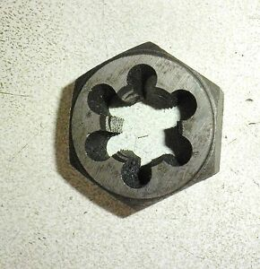 "10-32 NF // UNF 3//16/"" x 32 RH 1/"" width Parallel Hex TiAN chrome steel Die Nut"