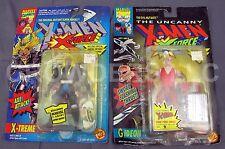 "Marvel Comics Uncanny X-Men X-Force GIDEON & X-TREME 5"" Action Figure ToyBiz NIP"