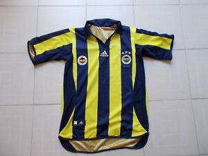 Fenerbahce Turkey Centenary 2006/2007 Vintage Football Shirt Jersey Adidas Xs ProcéDéS De Teinture Minutieux
