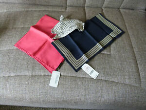 3ea50055a81 Details about Lot of 3 - Women's Scarf Shawl Various Brand: Echo, Neiman  Marcus etc. Silk
