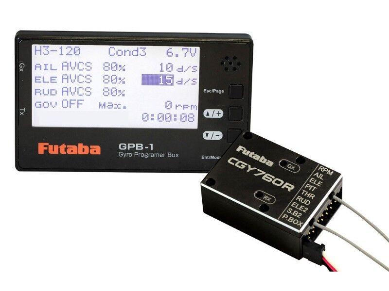 Futaba CGY760R Gyro con GPB-1  PROGRAMMATORE  P-GY760R-GBP1  molte concessioni