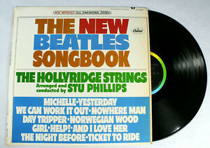 The-New-Beatles-Song-Book-Hollyridge-Strings-Capitol-ST-2429-1966-LP-Record