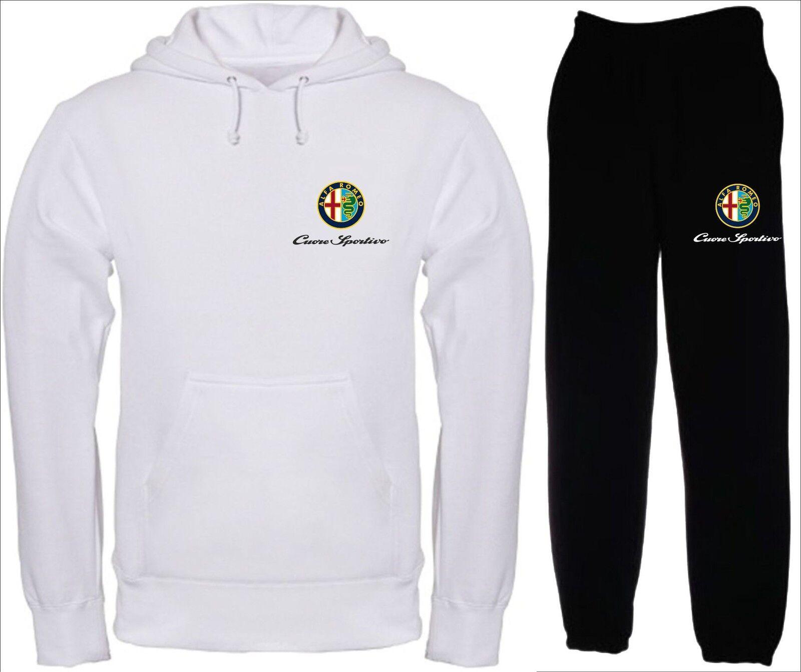 CUORE SPORTIVO TUTA felpa maglietta polo t-shirt maglia hoodie ducati alfa alfa ducati romeo cca65c