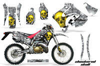 Amr Racing Honda Crm 250ar Graphic Decals Number Plate Kit Mx Bike Stickers Cs Y