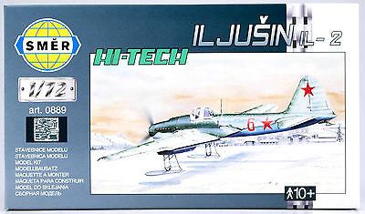 """Bausatz 1:72 SMER Iljuschin IL-2 Schlachtflugzeug /""""Fliegender Panzer/"""" 0865"""