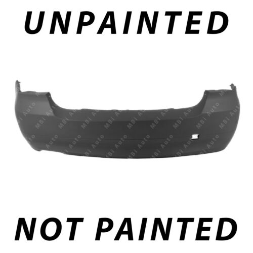 Painted To Match Rear Bumper Cover Replacement 2006 2007 2008 BMW 3-Series Sedan