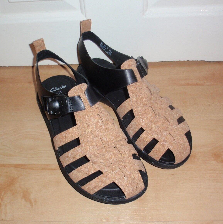 Clarks Christopher Raeburn JACALA SEA leather and cork mens sandals BNIB