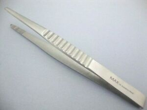 Dressing-amp-Tissue-Forceps-English-T-O-E-Serrated-Fine-Quality-034-FAST-SHIPPING-034