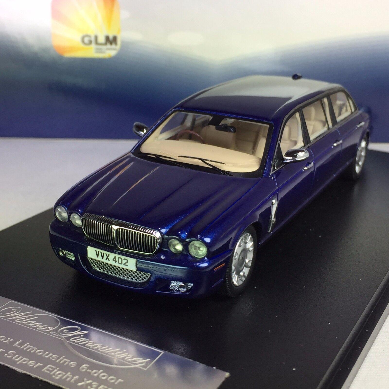 1 43 GLM Jaguar Daimler XJ XJ XJ (X358) Limousine Wilcox Eagle GLM213402 c1a82f