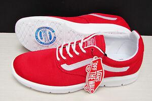 Vans Iso 1.5 True Red True White VN0A2Z5S6M4 Men s Size  11.5  85f932f4d