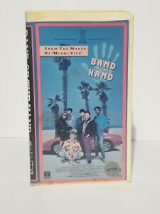 Band-of-the-Hand-VHS-Super-rare-1986-cult-thriller-Stephen-Lang-Miami-Vice