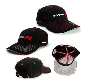 Genuine Honda Type R Black Baseball Cap (Civic, Integra ...