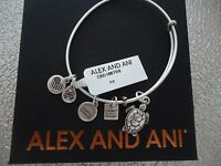 Alex And Ani Sea Turtle Rafaelian Silver Finish Bangle W/tag Card & Box